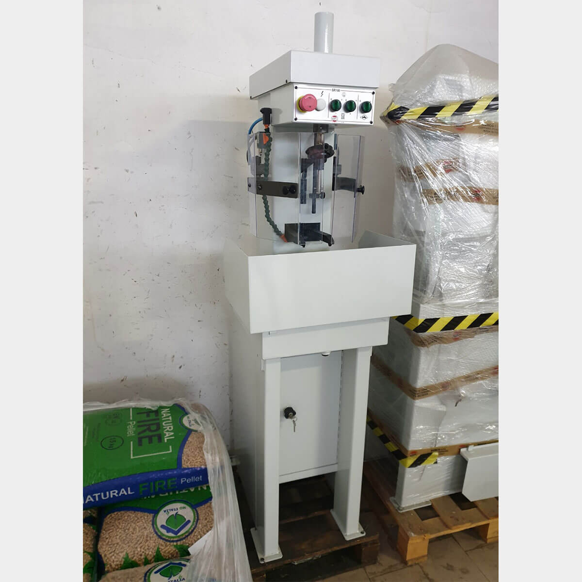 BERCO SR100 Used Cylinder Honing Machine