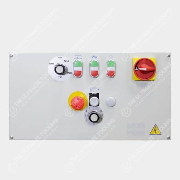 STC 330 Head resurfacer control panel