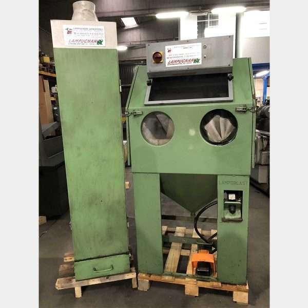 LAMPUGNANILC 05 UsedShot Peening Machine