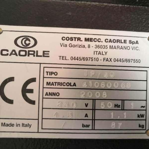 CAORLETP 40 Torno De Disco De Freno Usado