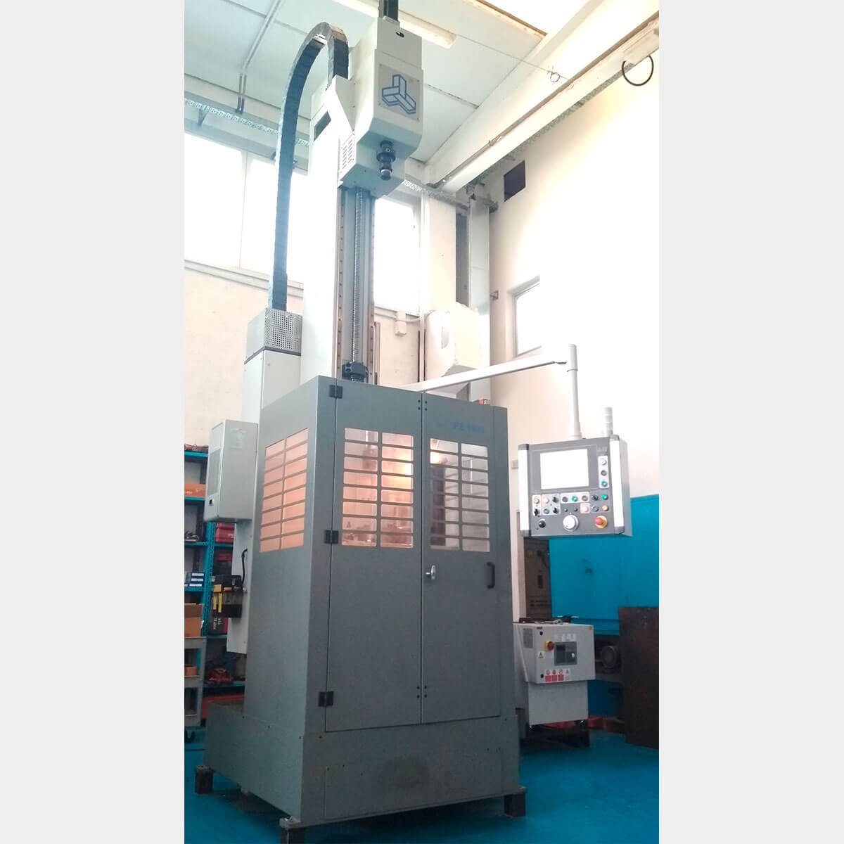 CAR PE-1500 Bruñidora Vertical CNC