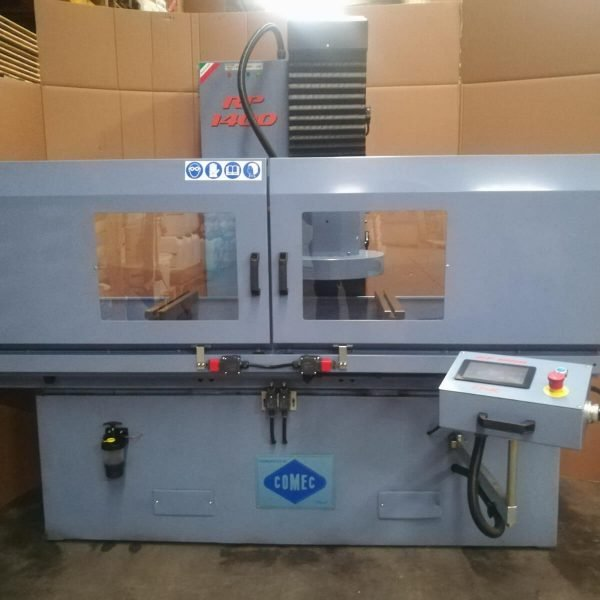 COMECRP-1400-CNC Spianatrice Testate Usata