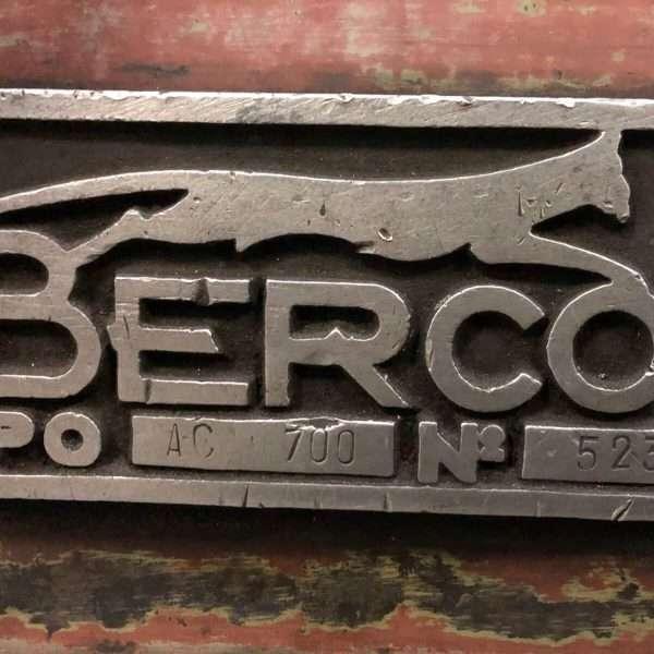BERCOAC 700 Alesatrice Cilindri Usata