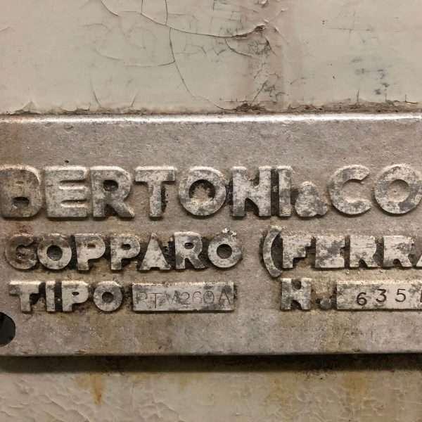 BERCORTM 260 A Rettifica Alberi a Gomito Usata