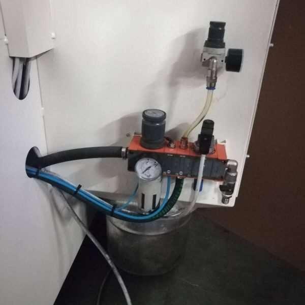 SILCOS12P UsedShot Peening Machine
