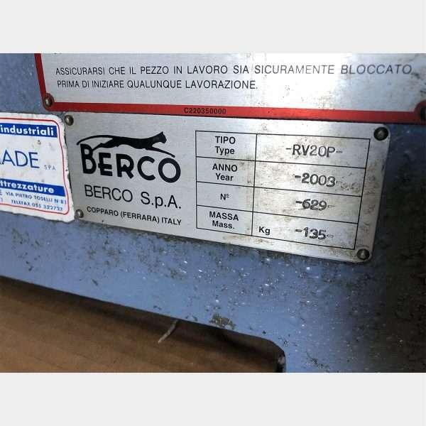 BERCORV20P Rectificadora De Válvulas Usada