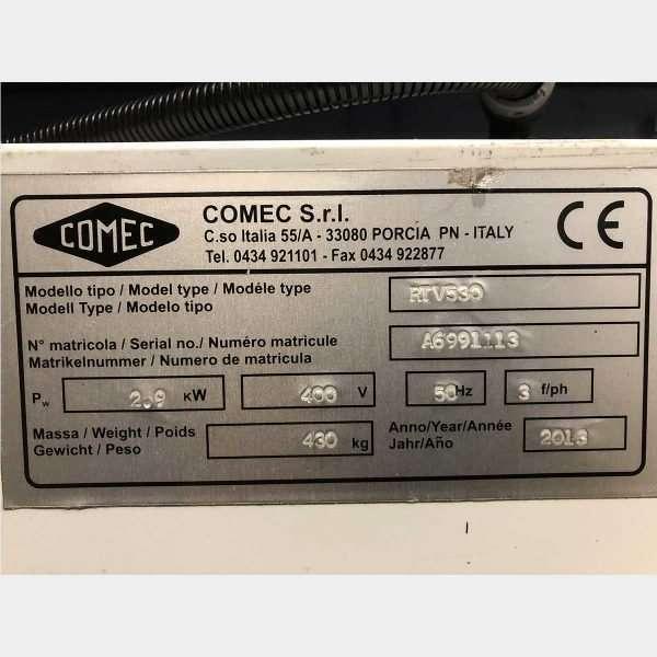 COMECRTV 530 Rettifica Volani Usata