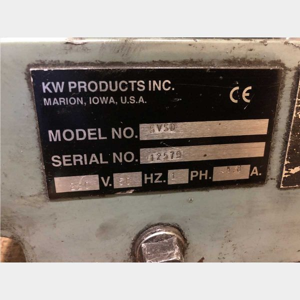 KWIK-WAY SV-SD Used Valve Grinding Machine