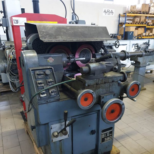 ZANROSSO BIG 380 Used Brake Rotor Grinder