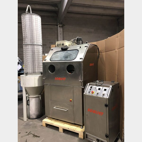 BICARJET MJ 1000 Used Sandblasting Machine