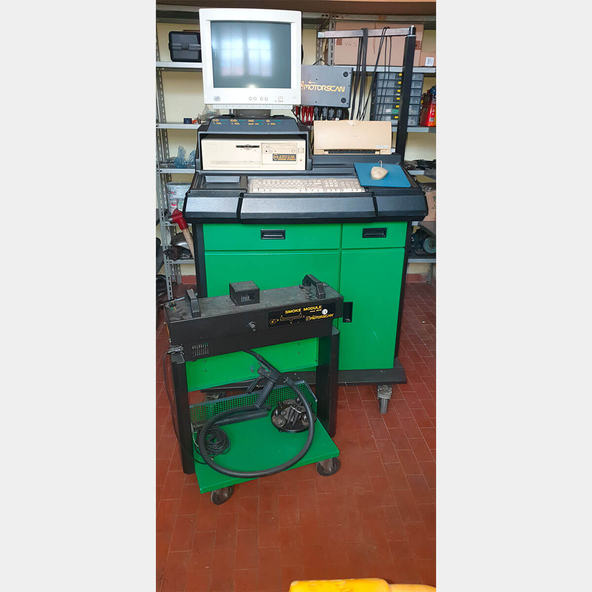 MOTORSCAN MULTEX PC 8000 Used Diagnostic Desk