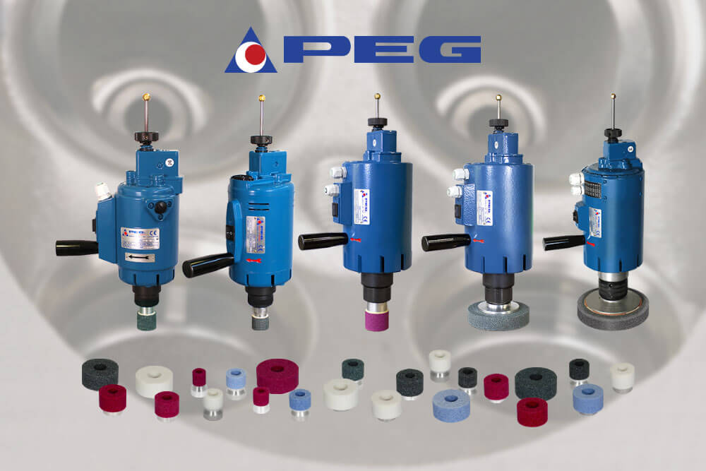 Rectificadoras de asientos de válvula PEG 8, PEG 10, PEG 90, PEG 125, PEG 175