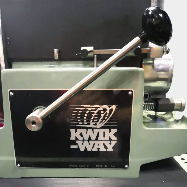 Kwik Way valve grinder traverse handle