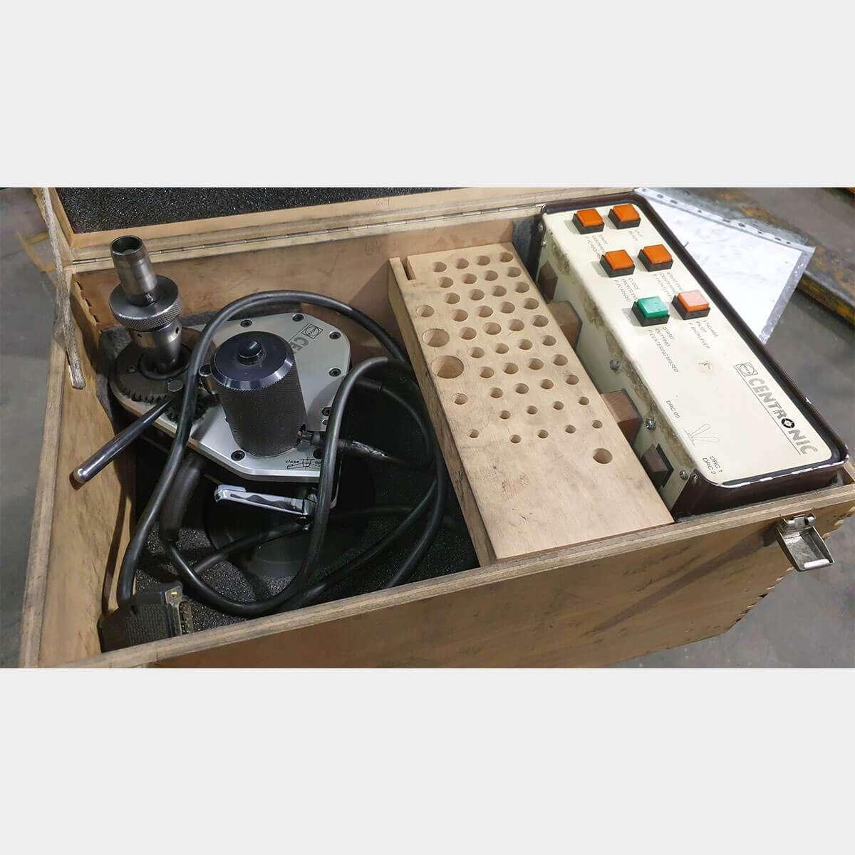 MU611 - MIRA Centronic Rectificadora De Asiento De Válvula Usada