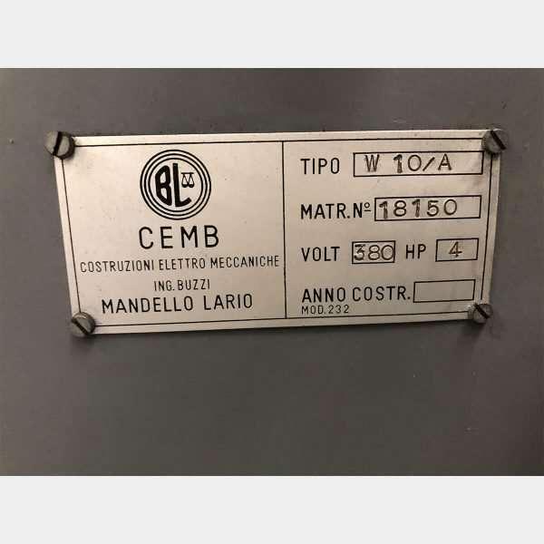 MU635 - CEMB W 10A Bilanciatrice