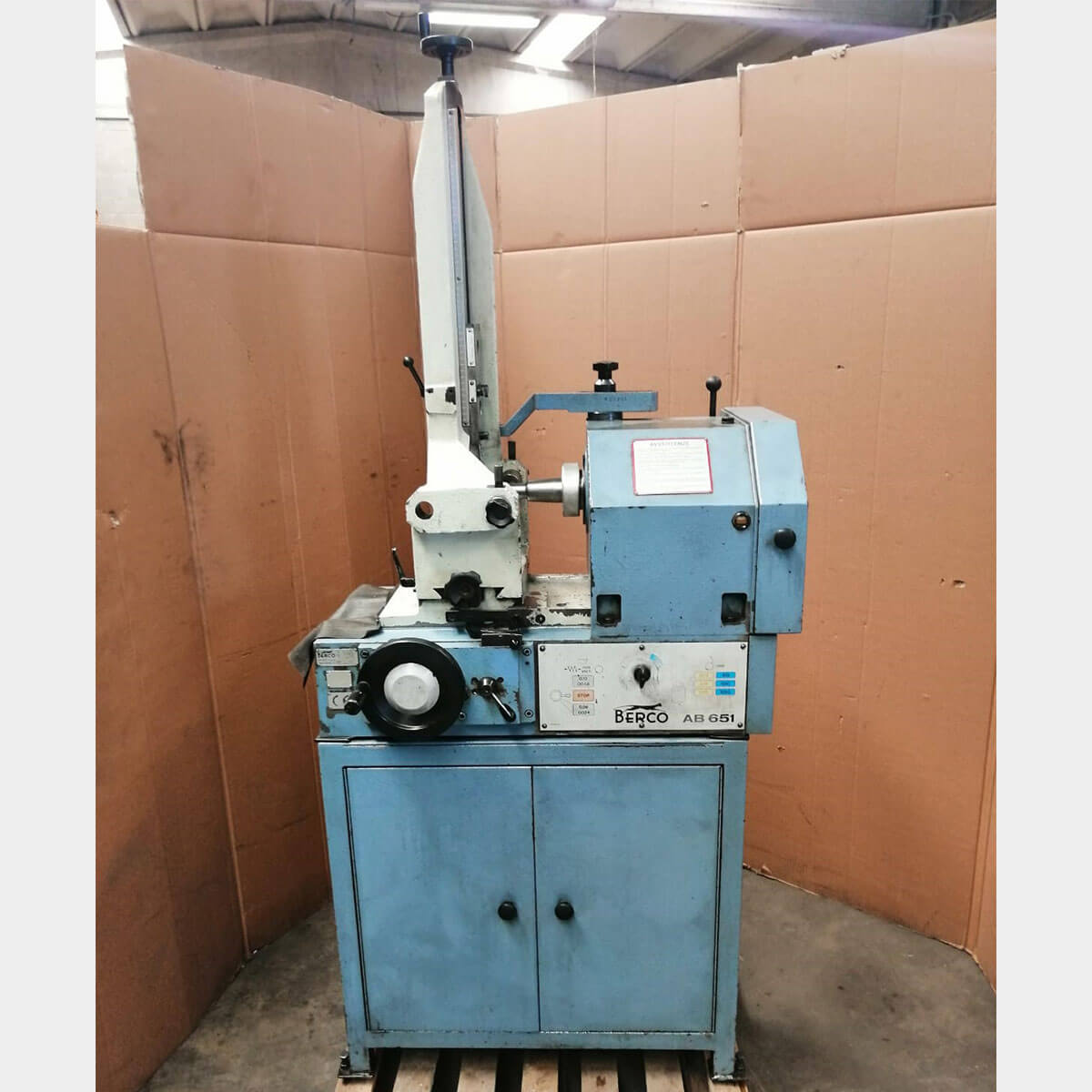 MU643 - BERCO AB 651 conrod grinding machine