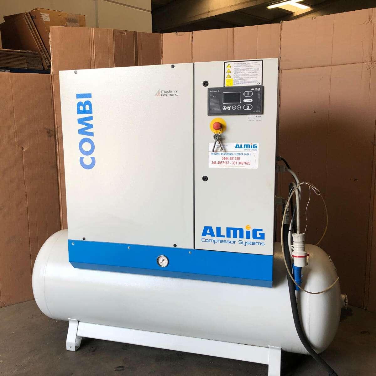 MU597 - ALMIG COMBI 8-10 Compressore