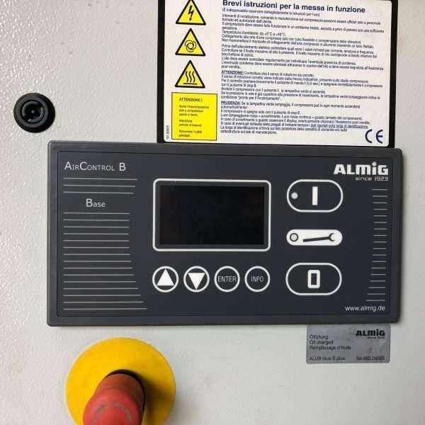 MU597 - ALMIG COMBI 8-10 Compresor Usado