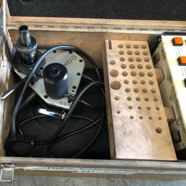 MU611 - MIRA Centronic Used Valve Seat Cutting Machine