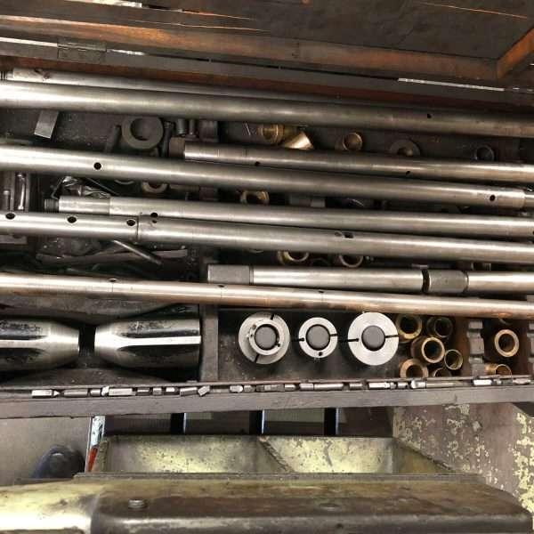 mu638 - BERCO BC 2 Used Horizontal Boring Machine