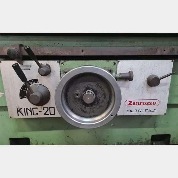 MU673 - ZANROSSO KING 20 Spianatrice Testate