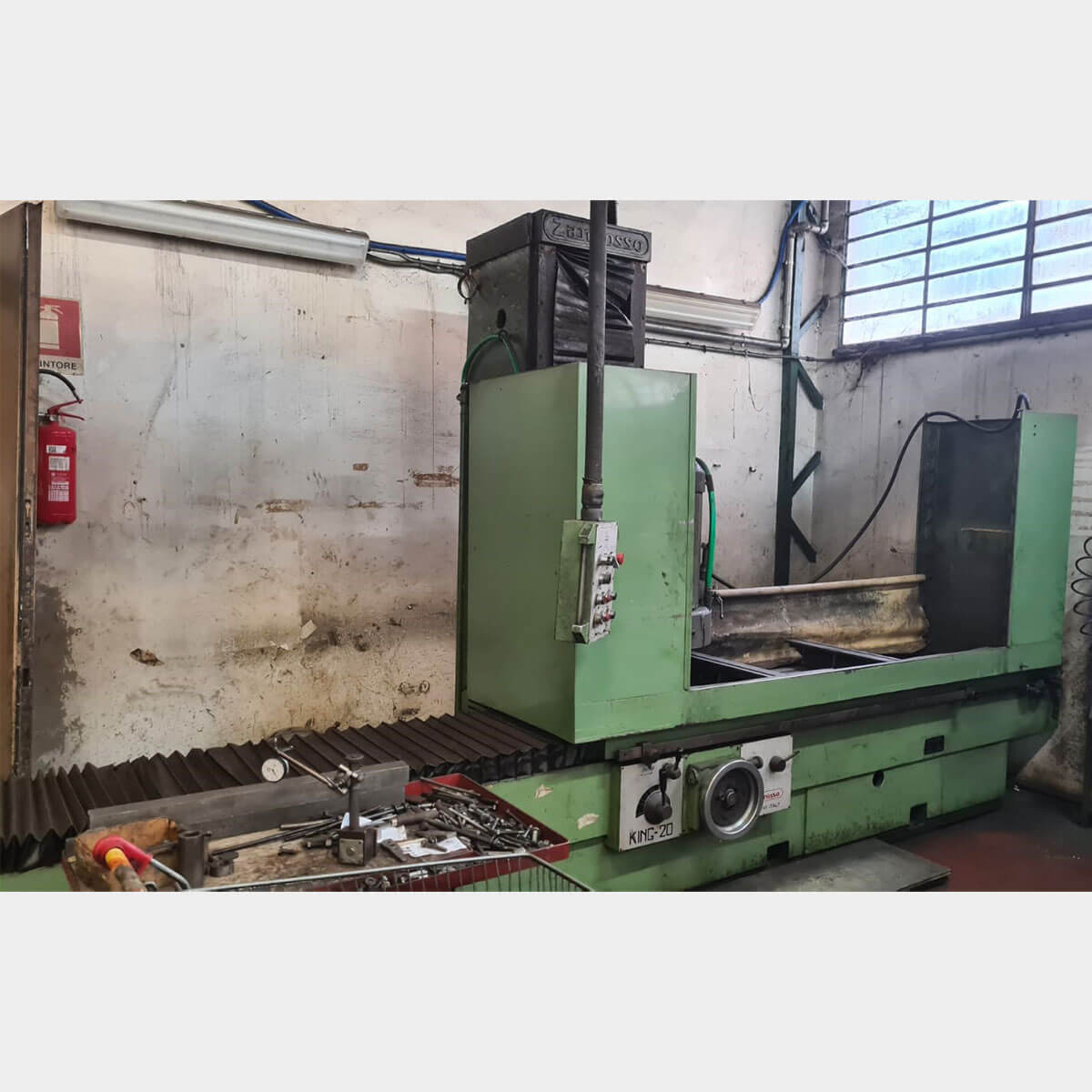 MU673 - ZANROSSO KING 20 Used Cylinder Head Resurfacing Machine