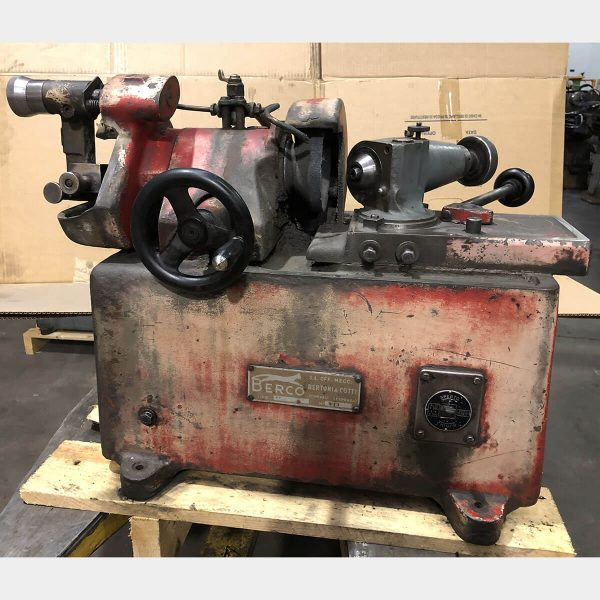 MU677 - BERCO RV 17 Used Valve Grinding Machine