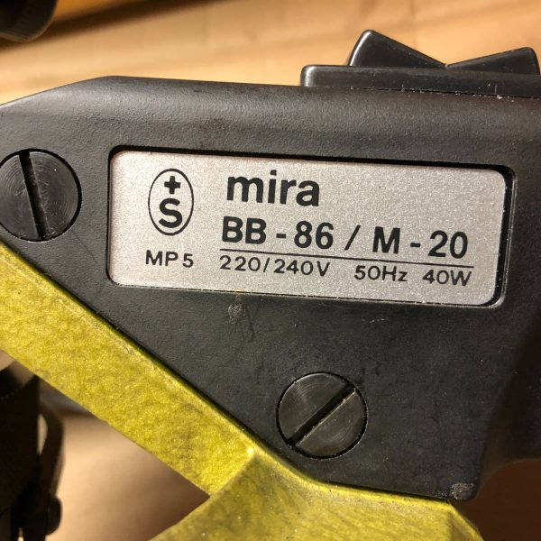 MU674 - MIRA BB-86/M-20 ALESATRICE BORDO CANNE ALESATRICE SEDI VALVOLE USATA