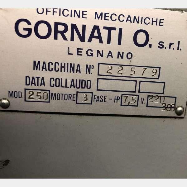 MU648 - GORNATI LEGOOR 250 Torno Paralelo Usado