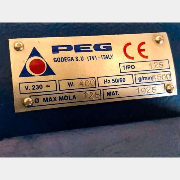 MU689 - PEG 125 Rettifica Sedi Valvole