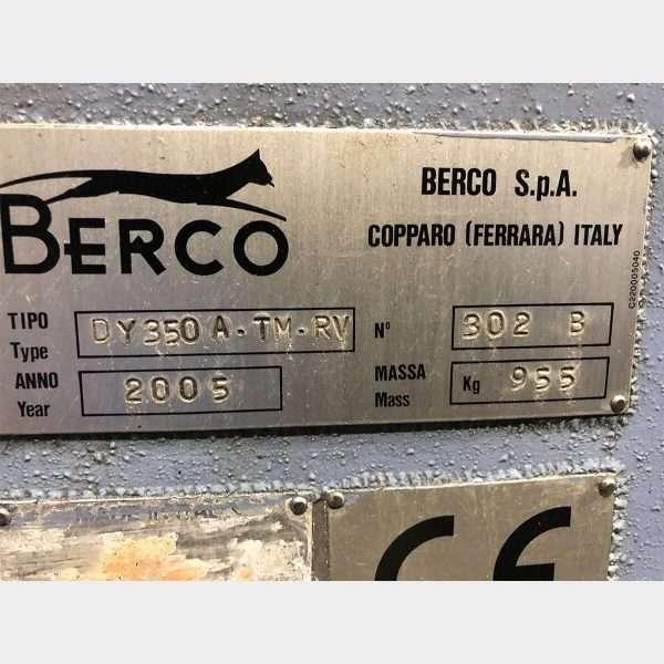 MU700 - BERCO DY 350 A Levigatrice Cilindri