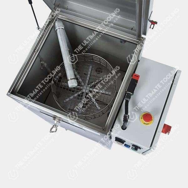 Lavadora de piezas con cesto giratorio L35
