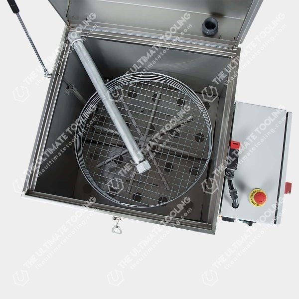 Lavadora de piezas con cesto giratorio L55
