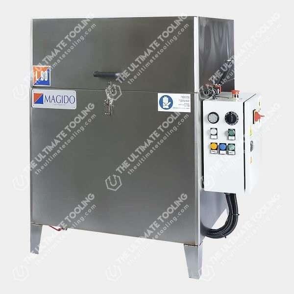 Lavadora de piezas con cesto giratorio L90
