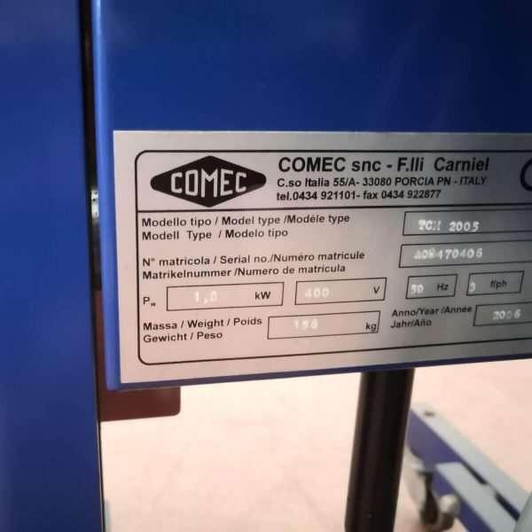 BL009 - COMEC TCE560 Tornio Ceppi Freno