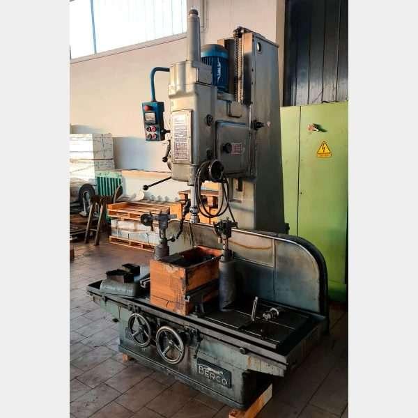 MU652 - BERCO D33 A Used Cylinder Honing Machine