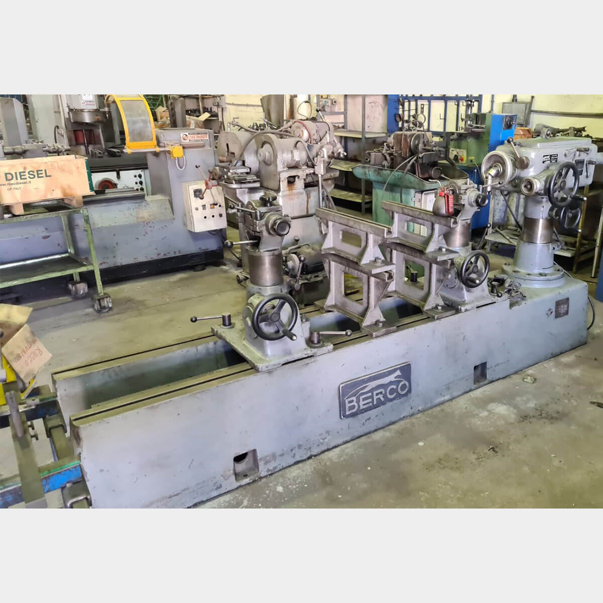 MU666 - BERCO BC4 Used Horizontal Boring Machine