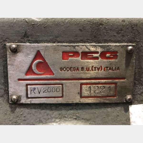 PEG RV 2000 Rettifica Valvole