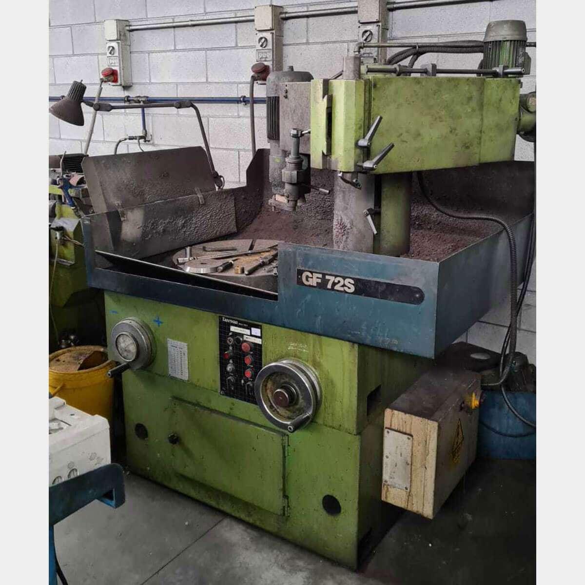 ZANROSSO GF72S Used Flywheel Grinding Machine
