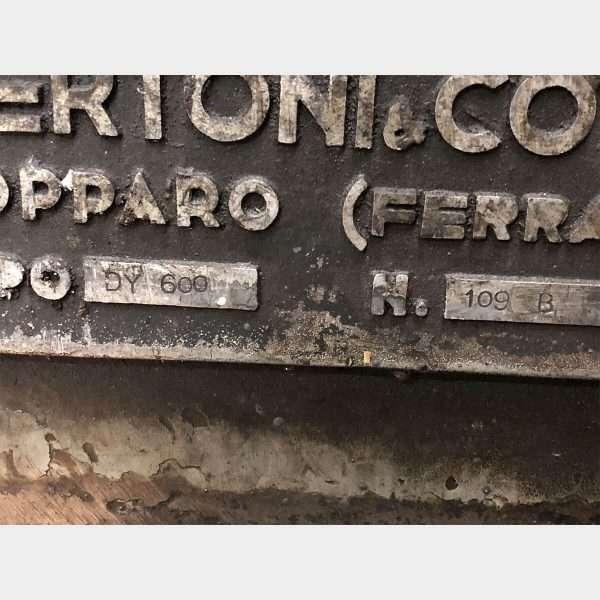 MU719 - BERCO DY600 Used Cylinder Honing Machine