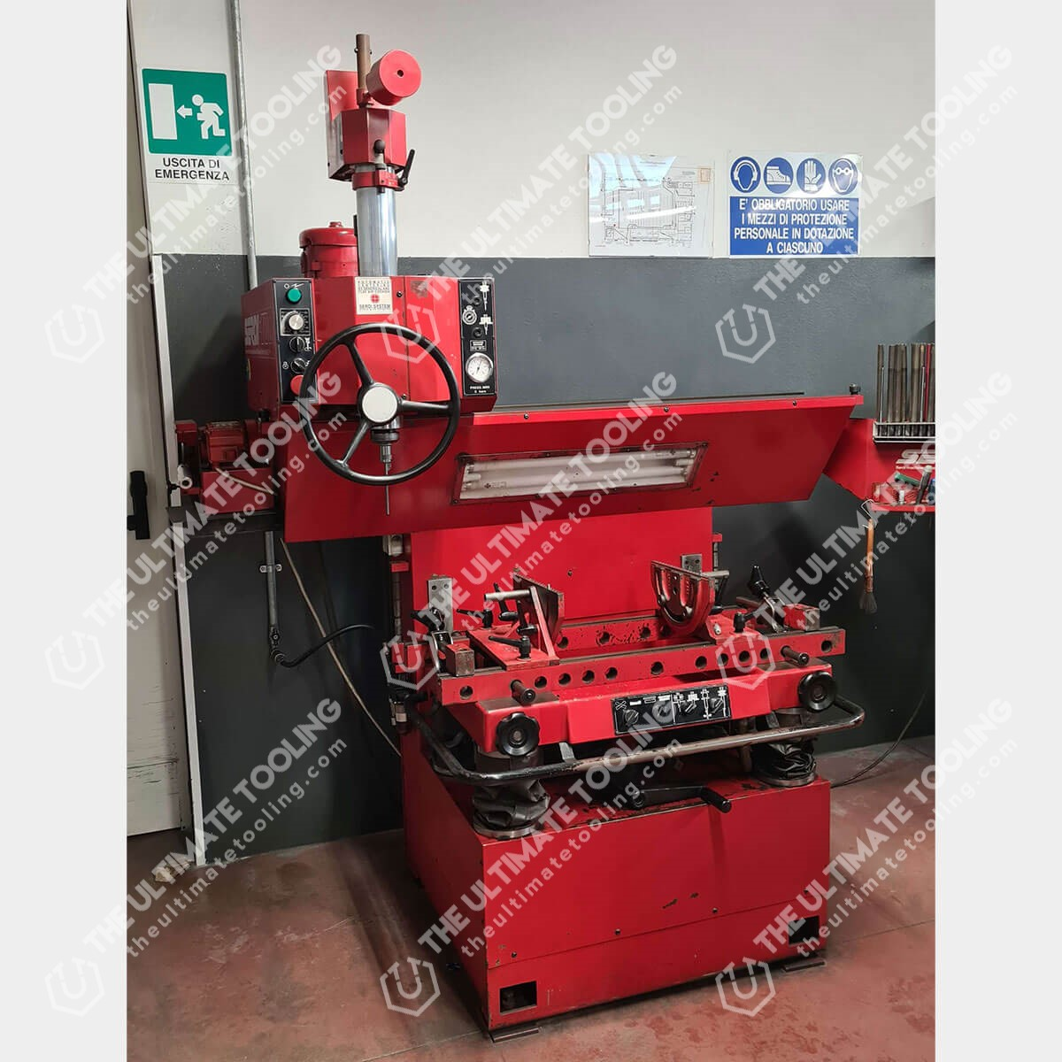 SERDI 100 Used Valve Seat Cutting Machine
