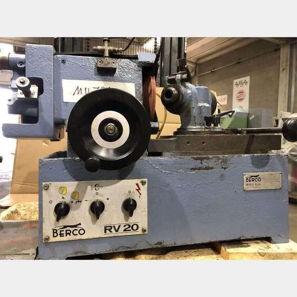 MU724 - BERCO RV20 Used Valve Grinding Machine