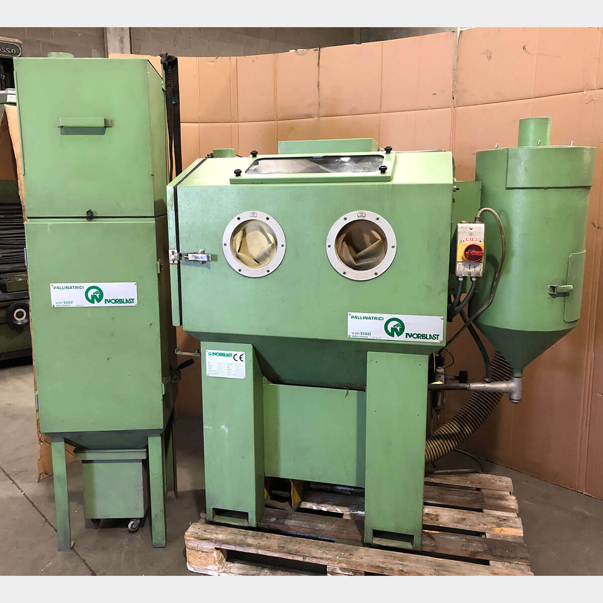 NORBLAST FN 31 Used Shot Peening Machine