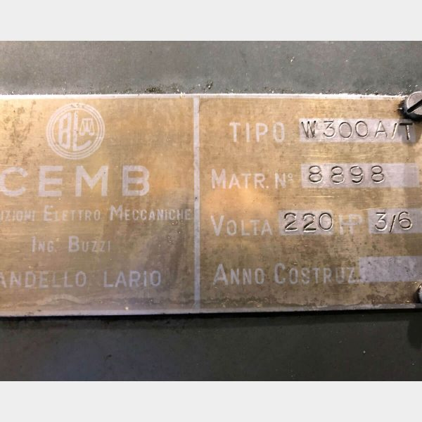 CEMB W300A/T Equilibradora Usada