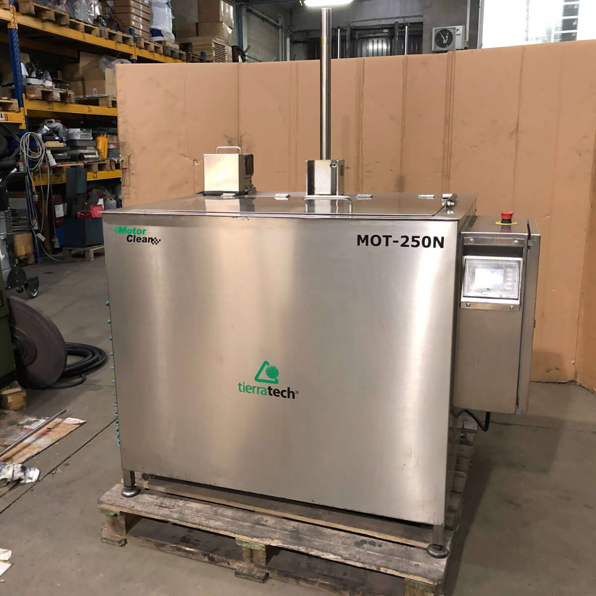 TIERRATECH MOT 250 N Used Ultrasonic Washing Machine