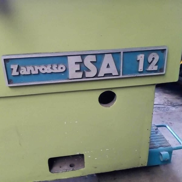 MU740 - ZANROSSO ESA12 S Used Cylinder Head Resurfacing Machine