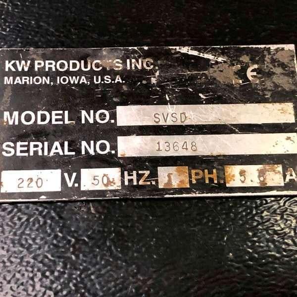 MU741 - KWIK-WAY SVSD Valve Grinding Machine