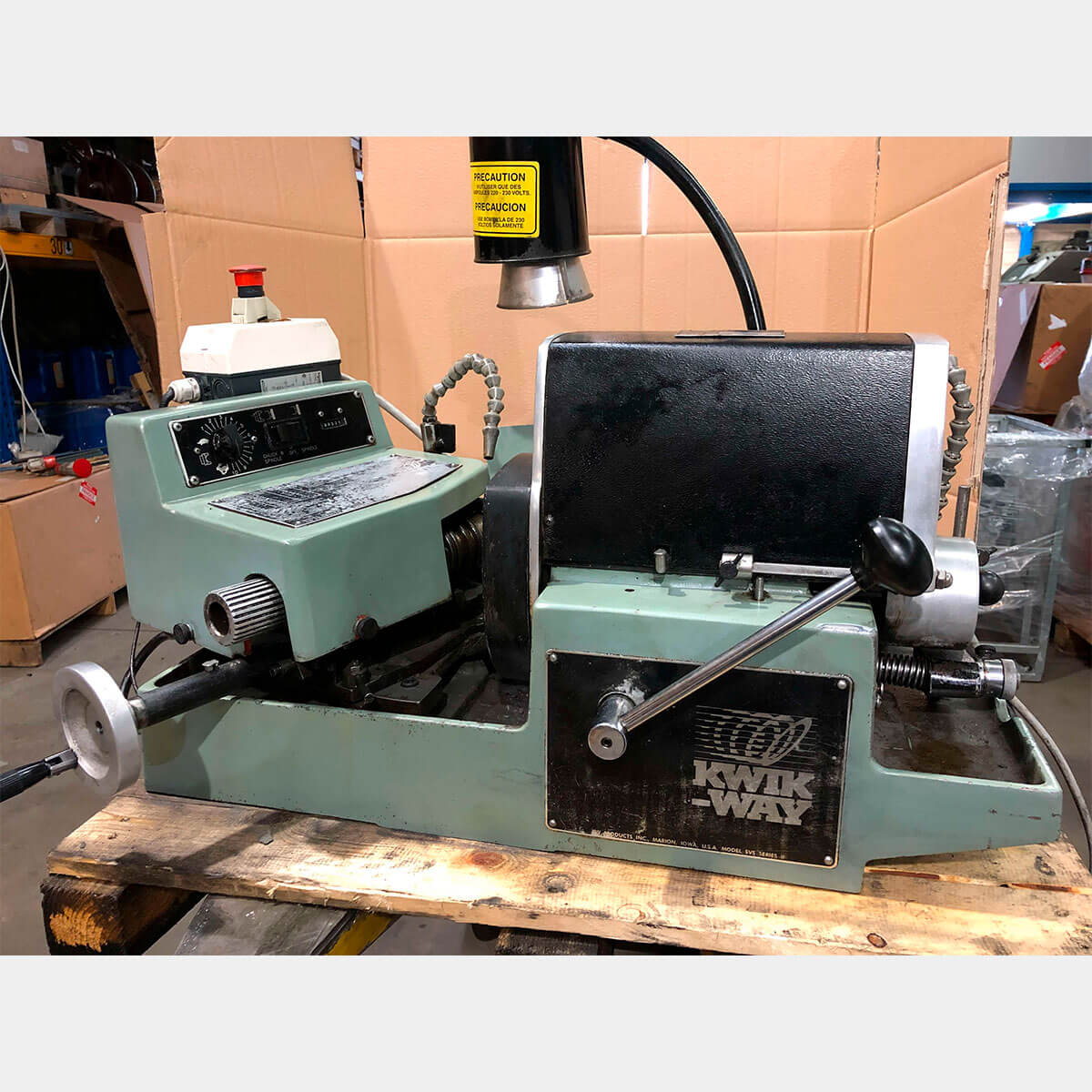 MU741 - KWIK-WAY SVSD Valve Grinding Machine