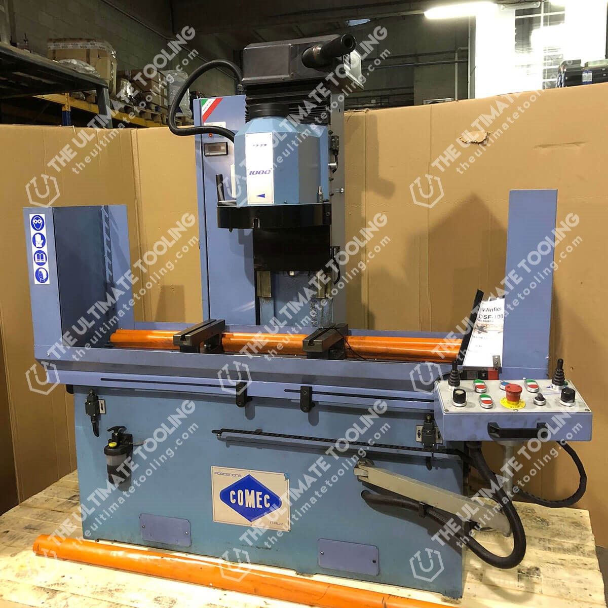 MU754 - COMEC RP1000 Used Cylinder Head Resurfacing Machine