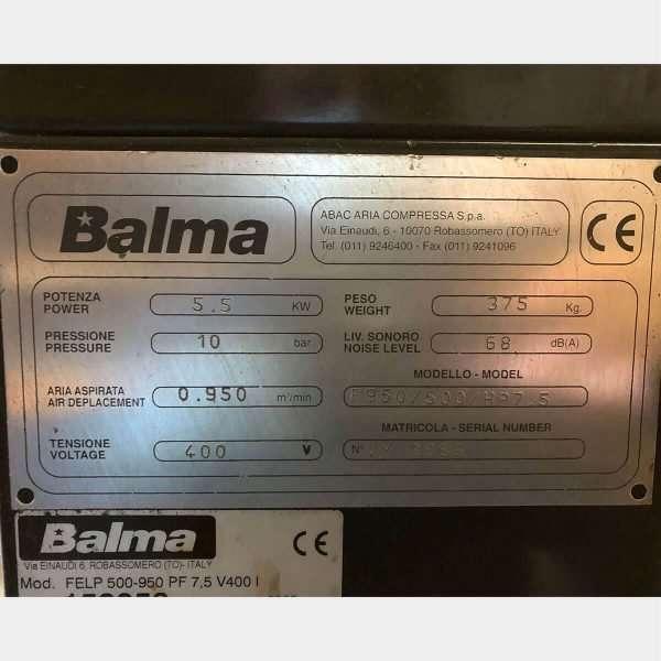 MU765 - BALMA F950 Used Compressor